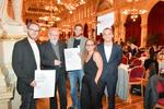 Preisträger: Hannes Sampl, Peter Nigst, Thomas Harlander, Marlene Wagner, Florian Anzenberger © Robert Herbst