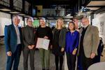 Vergabe Architekturstipendium 2019 (c) Helga Rader