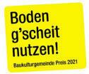 LandLuft Baukulturgemeinde-Preis 2021_Auslobung